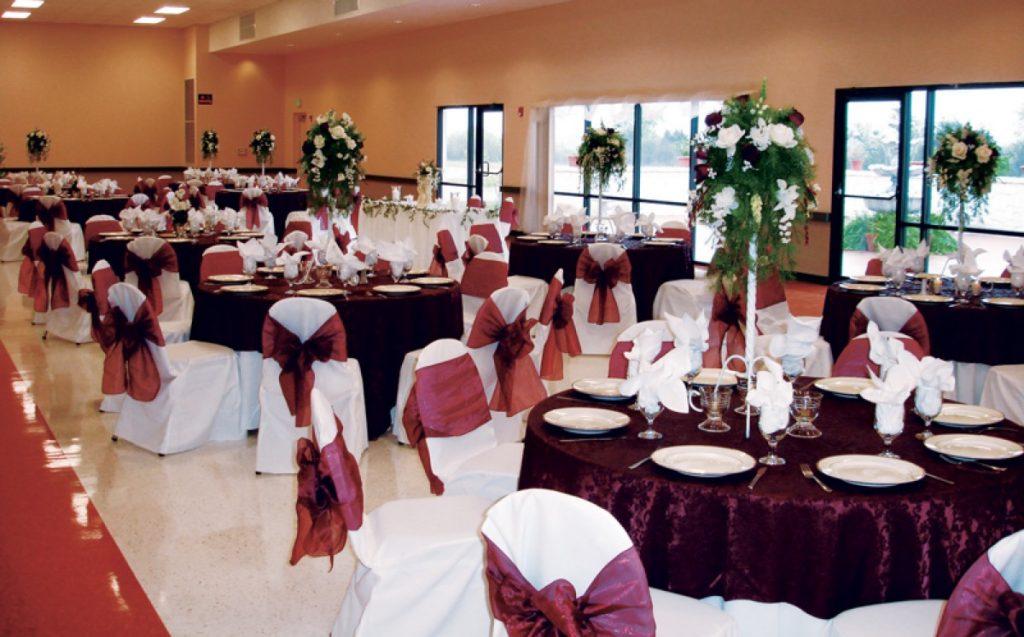 Banquet space of Las Fuentes by Emporium