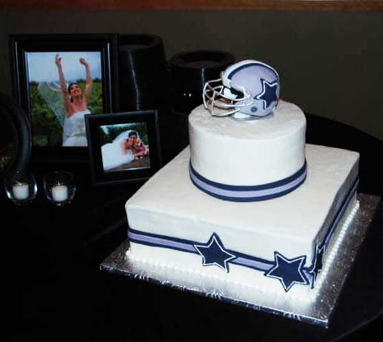 Creations Cakes, cowboys cake