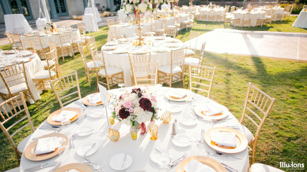 Illusions Tents, Rentals, & Design knows it is the little touches that bring out the best!
