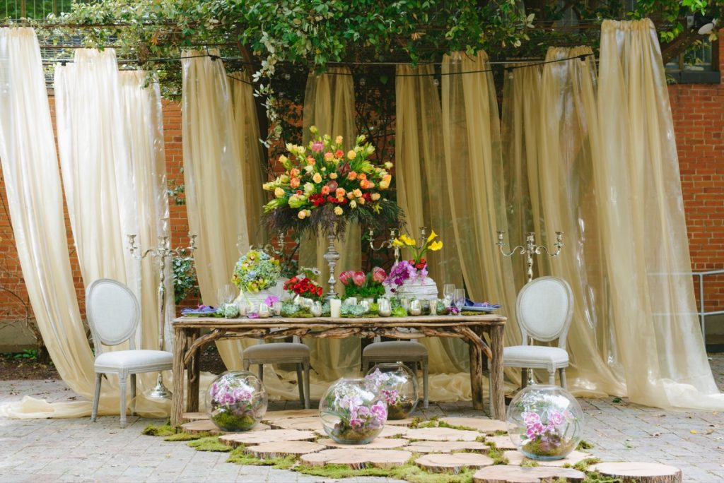 If you want your wedding table to stand out, your best bet is to go to Illusions Tents, Rentals, & Design