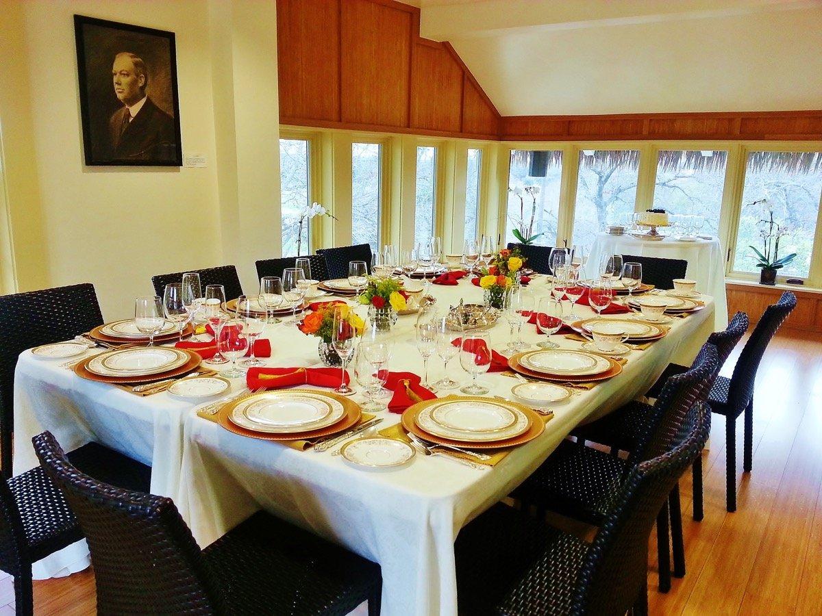 Wedding rehersal dinner can be excellent at Jingu House & Japanese Tea Garden