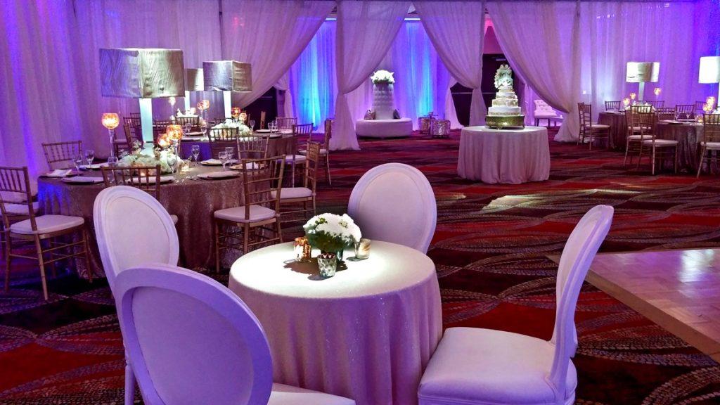 Hilton Palacio del Rio in glorious purple and white.