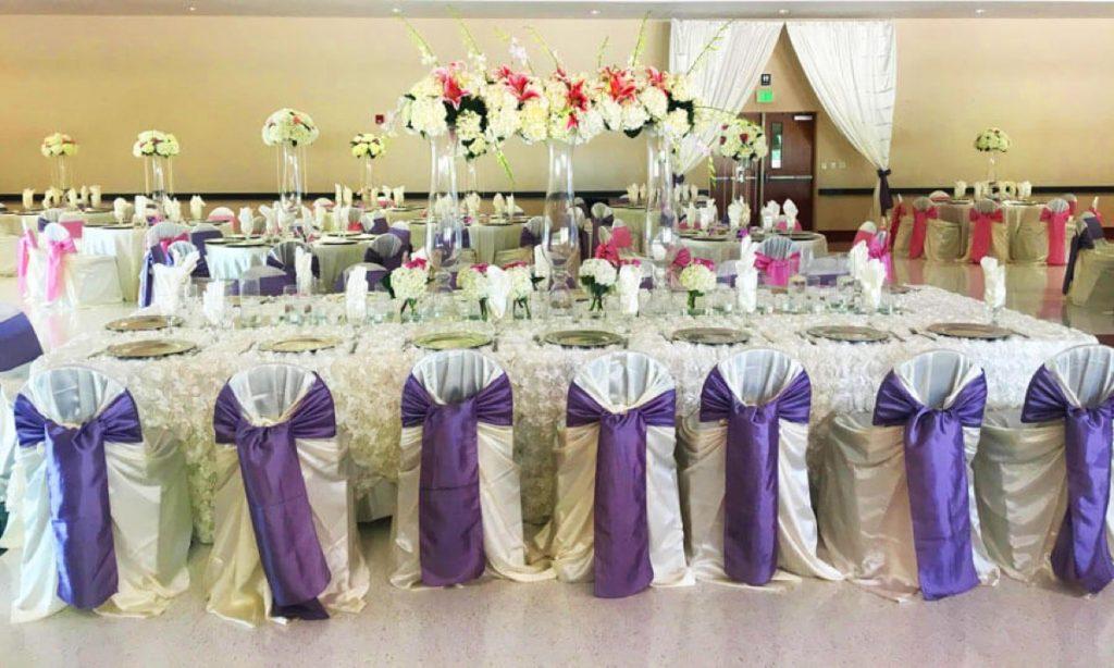 Las Fuentes by Emporium banquet table