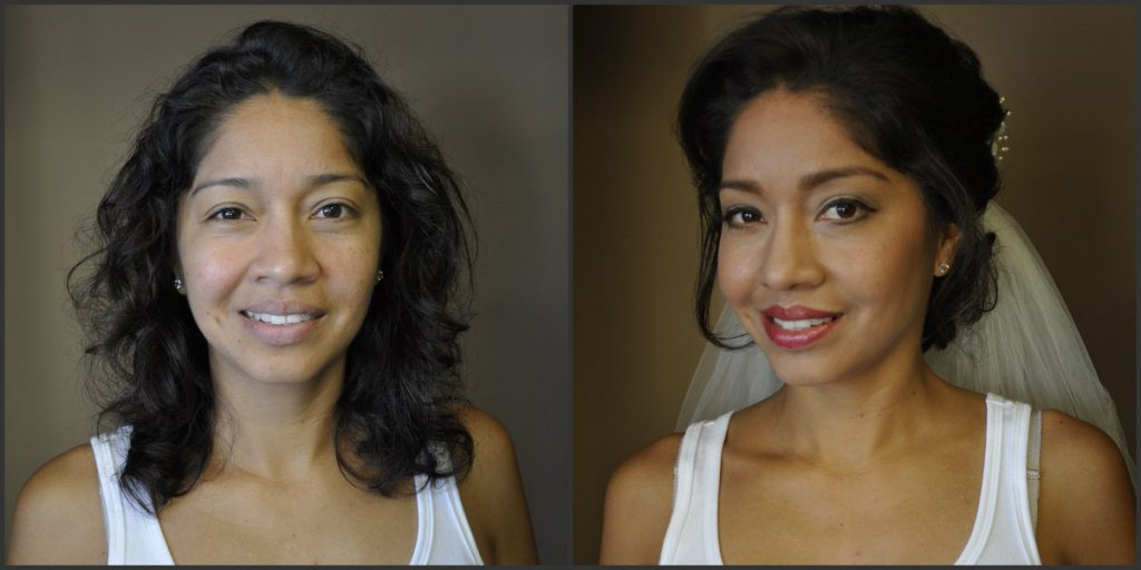 A before and after once Indulgences Hair & Body Salon takes over!