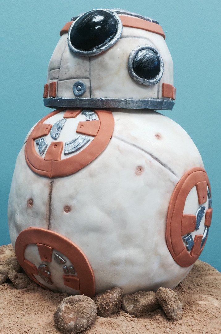 Cake Art. Star Wars BB-8