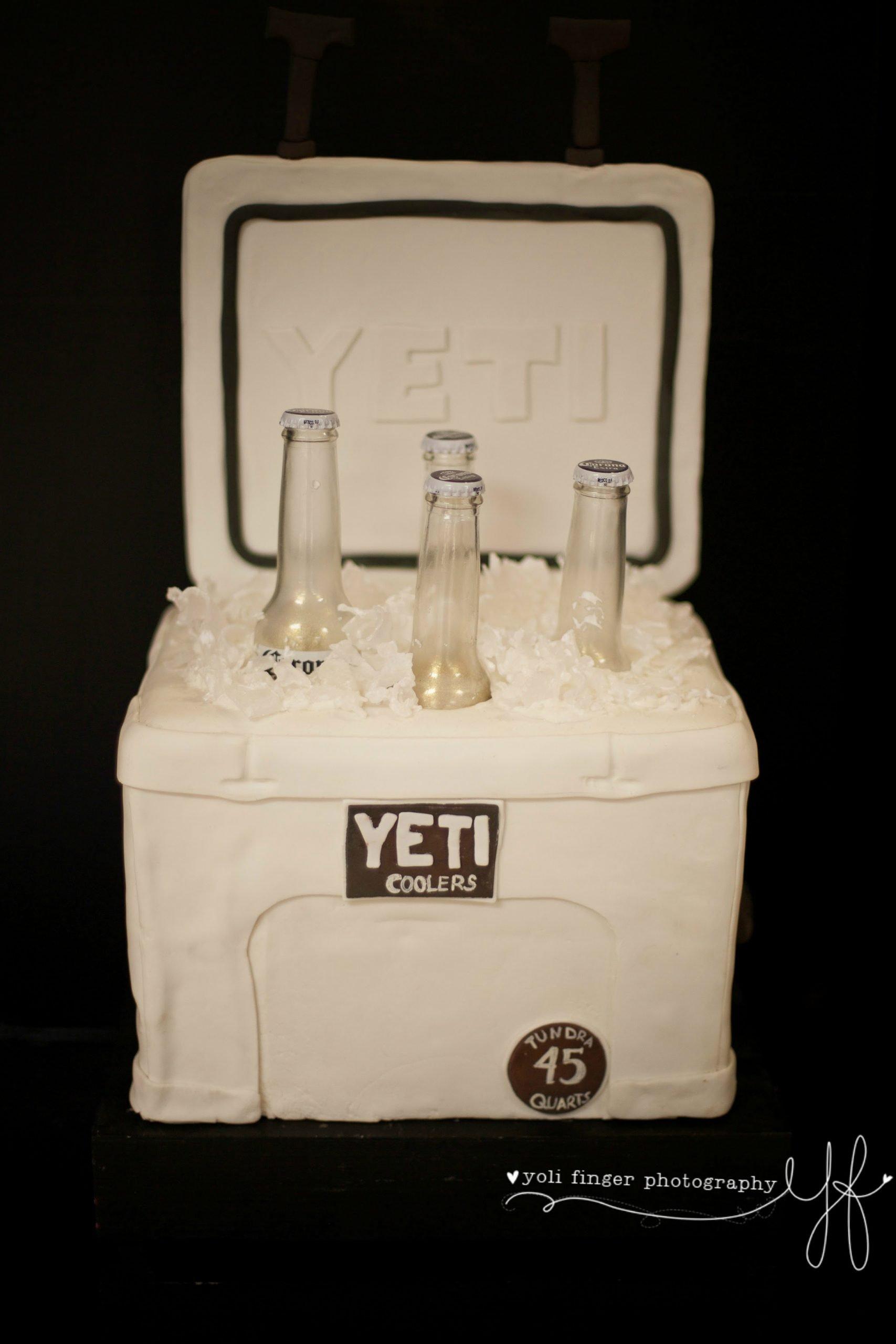 The Cake Shop Yeti Cooler