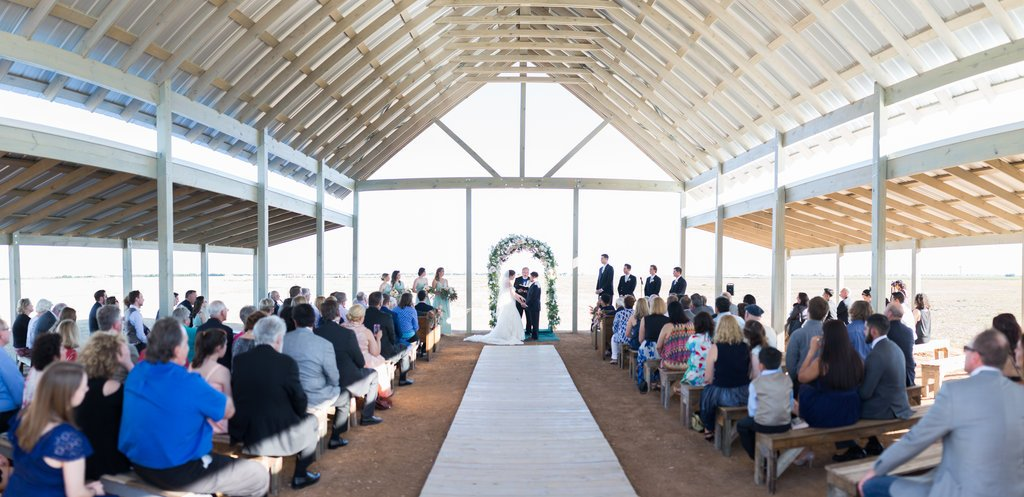 Allen Farm Haus chapel Ceremony