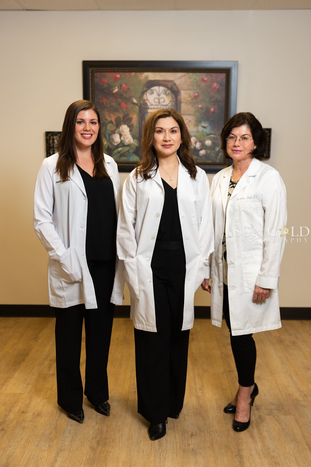 Alamo City Dermatologists-a Doctor with 2 assistants