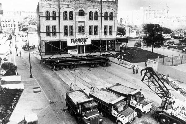 Moving the Fairmount Hotel The Fairmount Hotel SanAntonioWeddings
