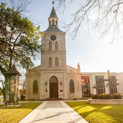 First Protestant Church - San Antonio Weddings - New Braunfels Church Ceremonies