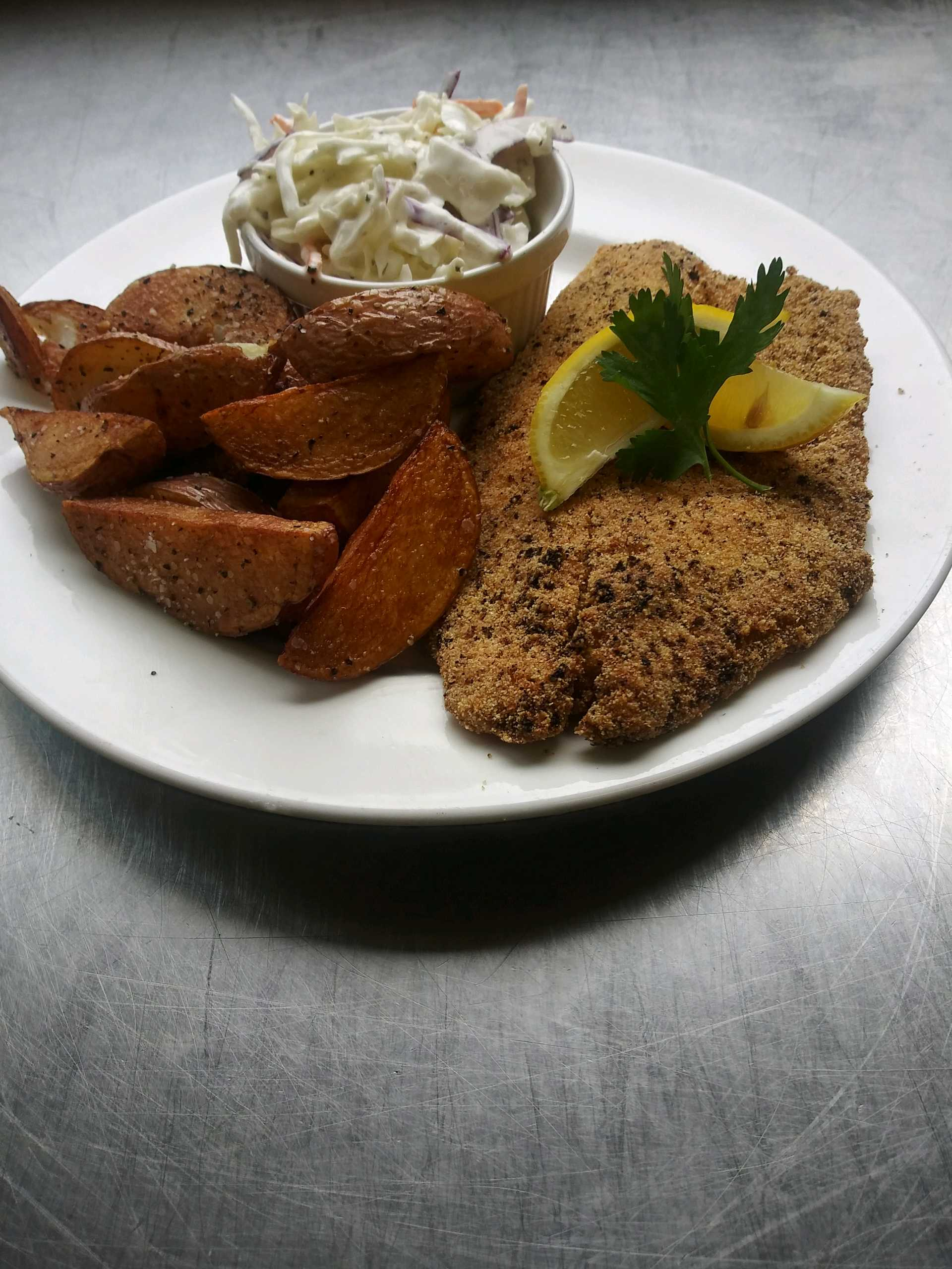 Anne Marie's Catering fried tilapia