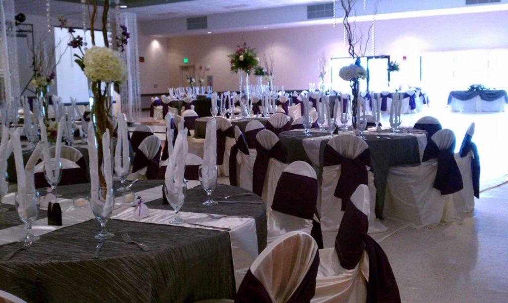 Banquet space of Las Fuentes by Emporium.