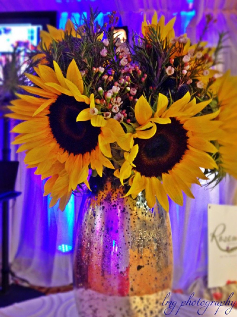 Large sunflowers can be so brilliant from Flair Floral