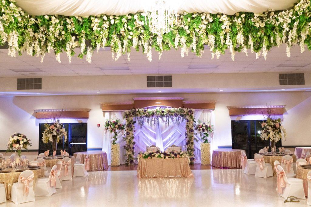 The banquet Hall at Las Fuentes by Emporium.