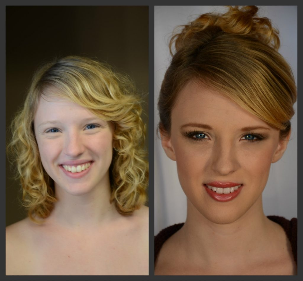 Wowzer! What a diffence Indulgences Hair & Body Salon can do!