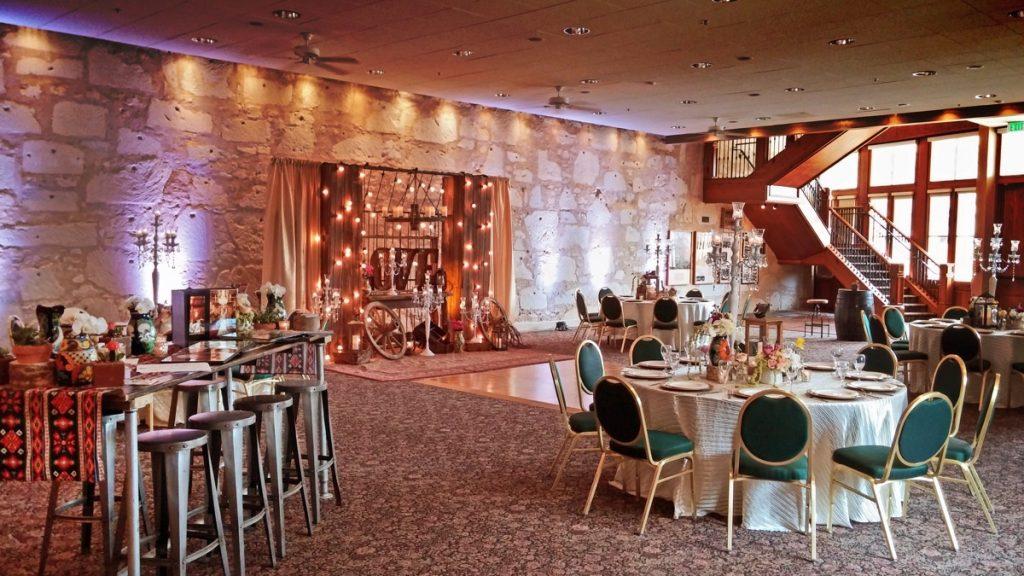 From The Hilton Palacio del RioAcross Alamo Street is the Pavilion!
