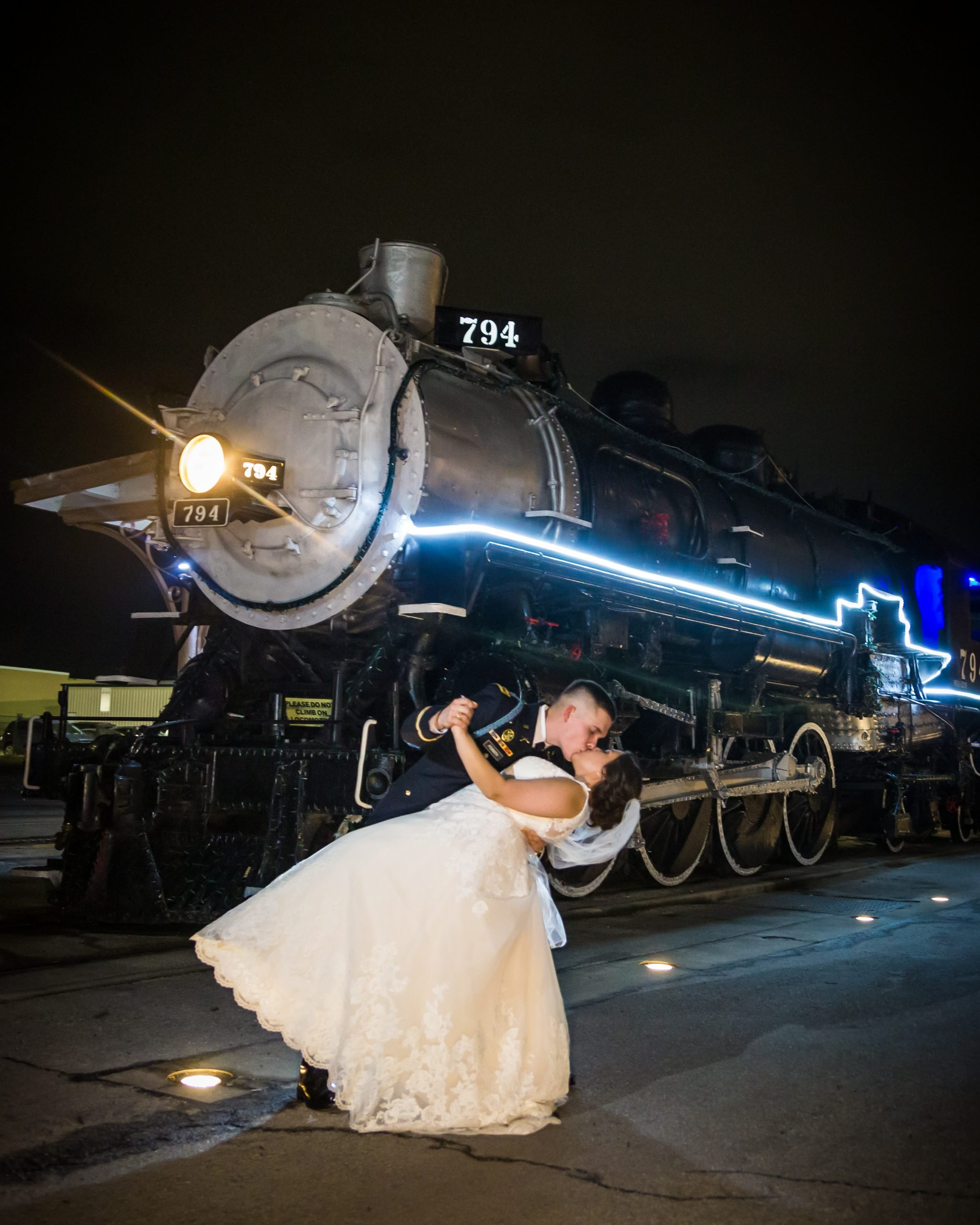 Aria Productions with a train