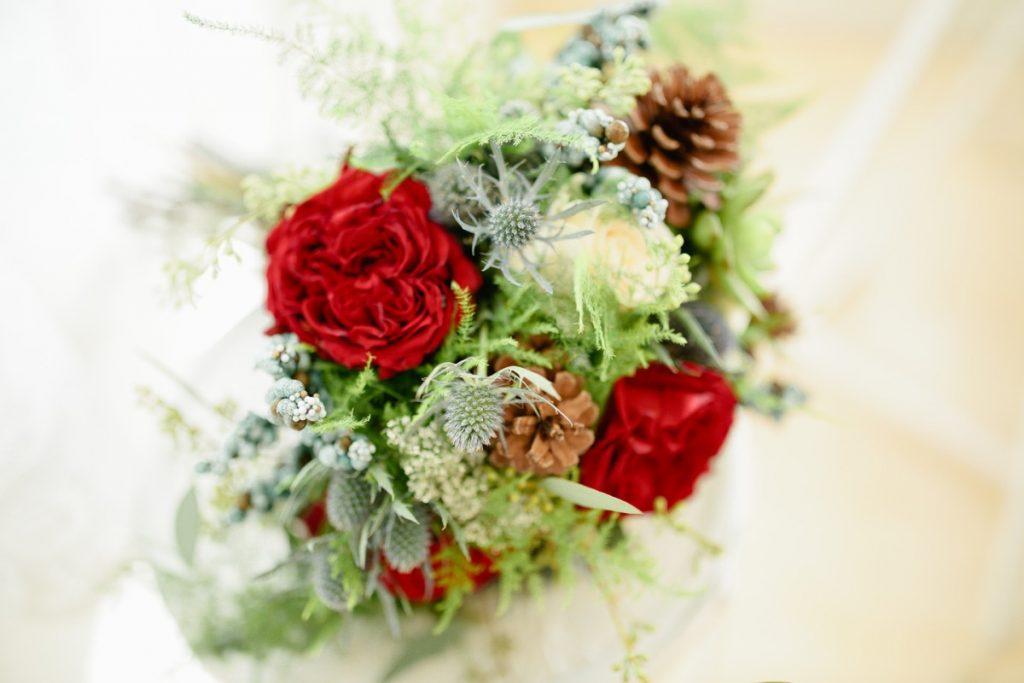 A bouquet!