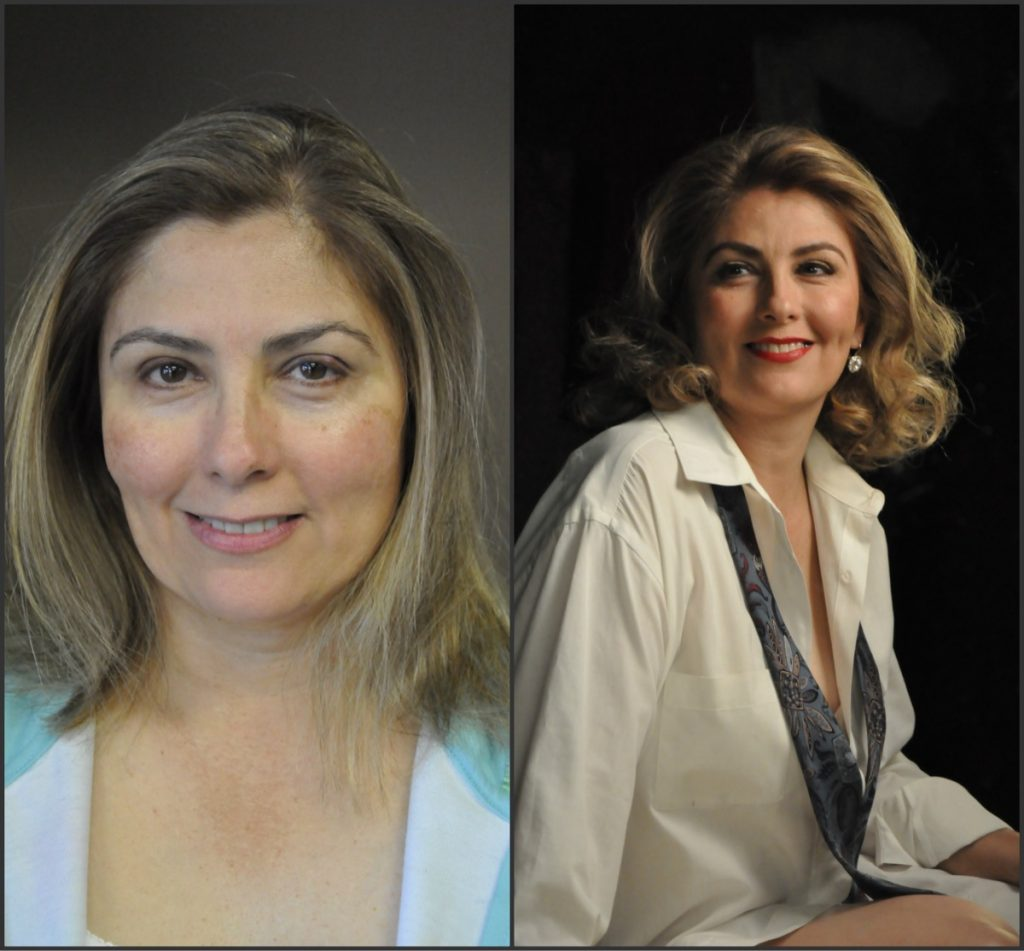 Before and after Indulgences Hair & Body Salon for everyone! gets you!