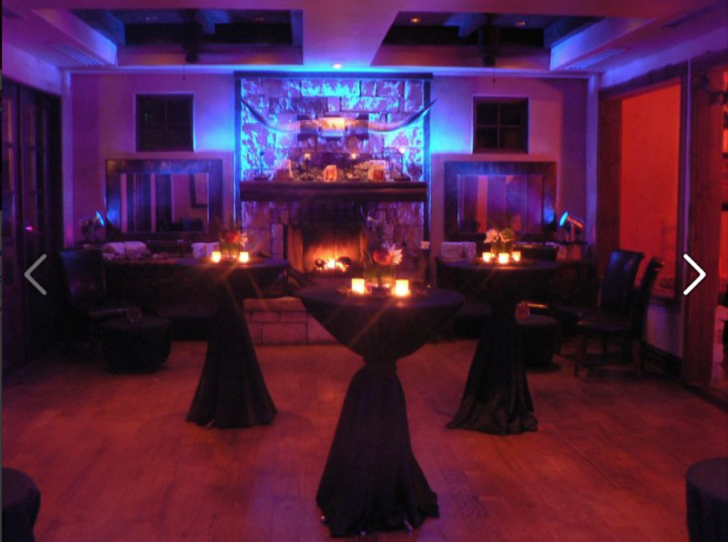 A romantic lighting experience created by the Event Ignition!