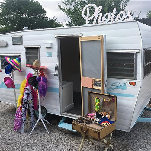 ShastaGram Vintage Trailer Photo Booth-BridalBuzz-San Antonio Weddings