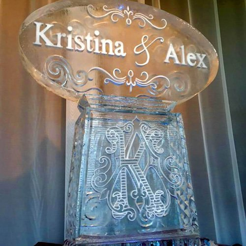 Signature Ice Sculptures - BridalBuzz-San Antonio Weddings
