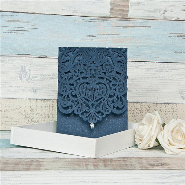 Aly Am Paperie Invitations & Gifts blue