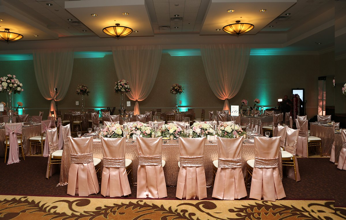 A Long table at Events by Touch of Elegance in San Antonio, TX