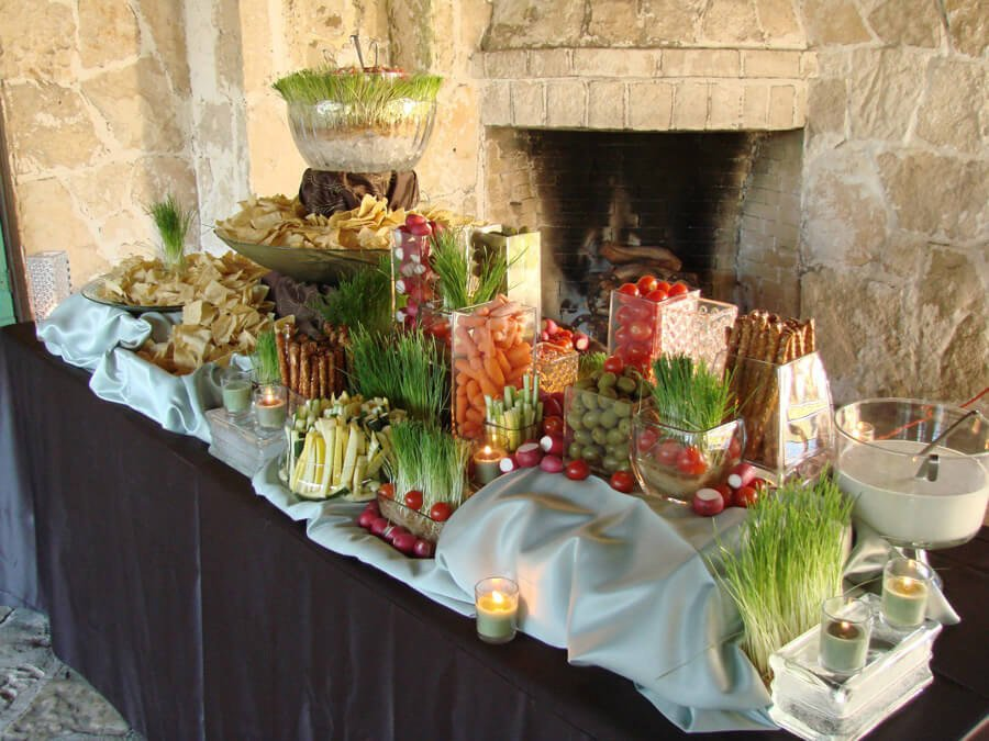 Anne Marie's Catering food table