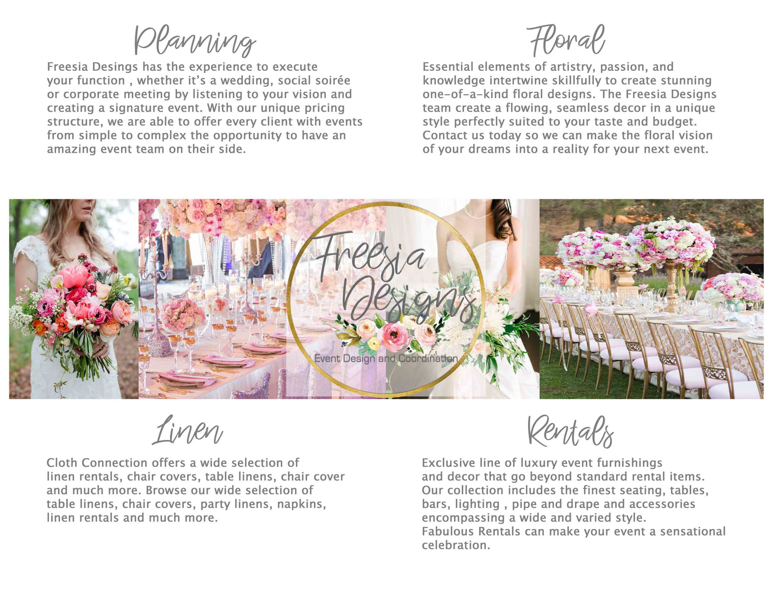 Freesia Designs-San Antonio Weddings