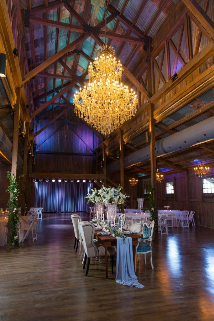 Elegance at Eagle Dance Ranch? Yes, it can be done, even in the Big Barn.