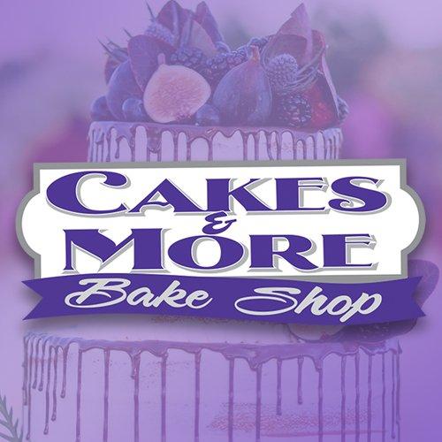 Cakes & More Bake Shop logo