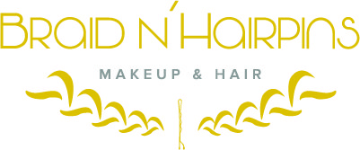 Braid N'Hairpins Makeup & Hair logo