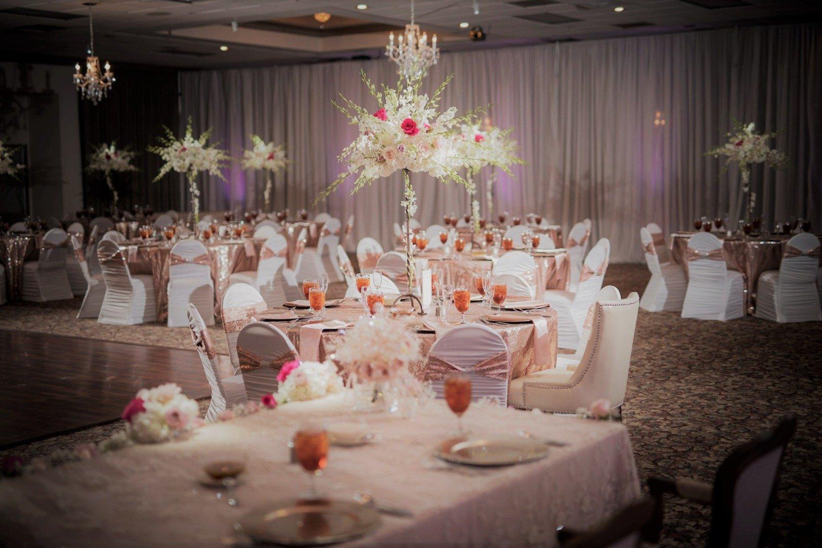 Phoenician Ballroom at St. George Maronite BridalBuzz-San Antonio Weddings