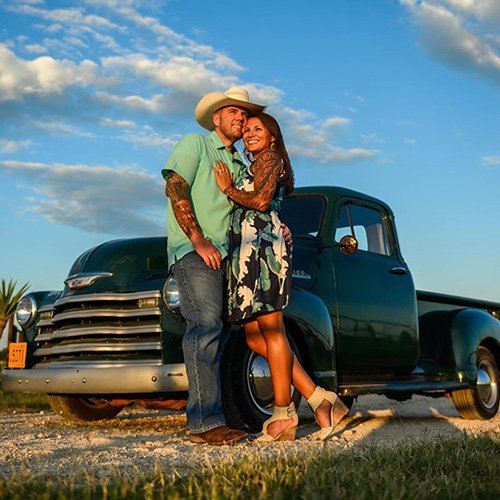 Sun Gold Photography Engagement Session
