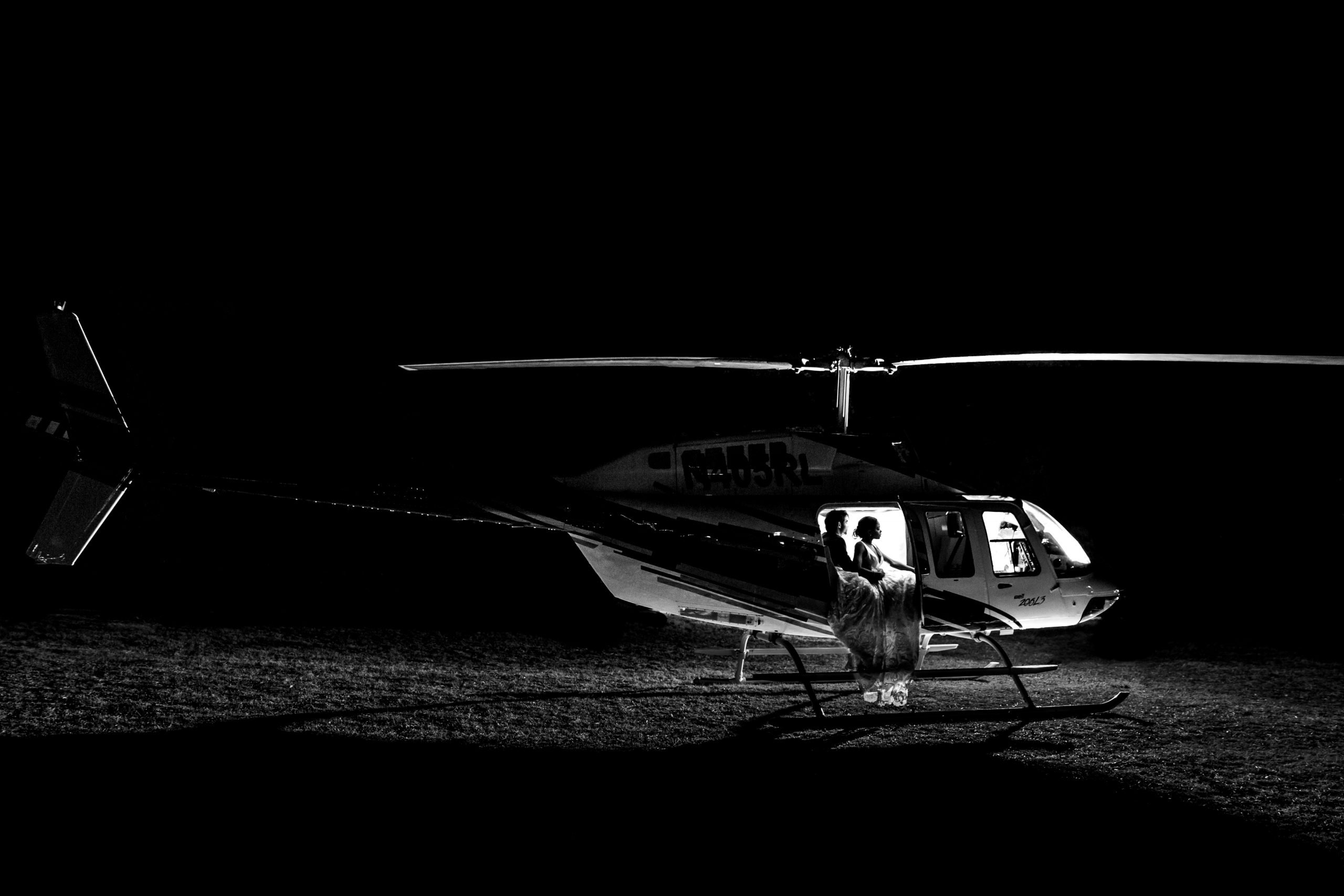 Carrige Hills Ranch -helicopter-BridalBuzz-San Antonio Weddings