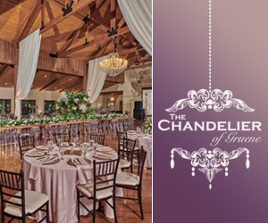 Chandelier of Gruene - San Antonio Weddings Chapel and Receptions