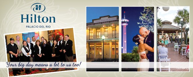 Hilton Palacio del Rio - San Antonio Weddings & Receptions