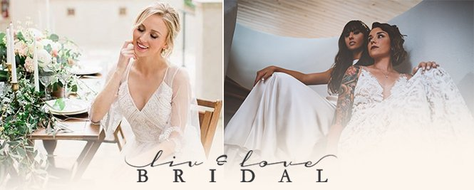 Live and Love - San Antonio Weddings Bridal Attire