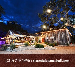 Sisterdale Dance HallRiver Terrance - San Antonio Weddings & Receptions