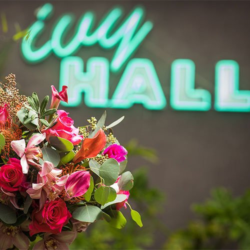 Bridal Bouquet Shoot at Ivy Hall Events