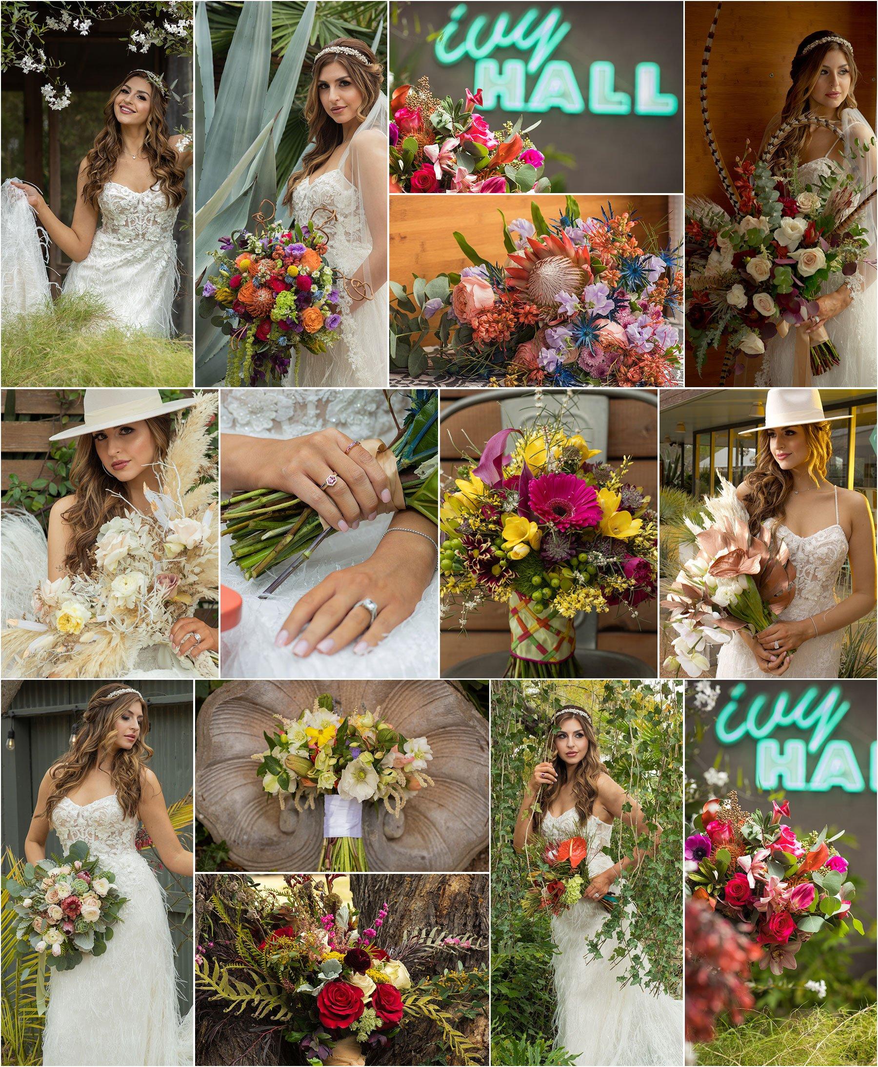 Bridal Bouquet Floral Shoot 2020 - San Antonio Weddings