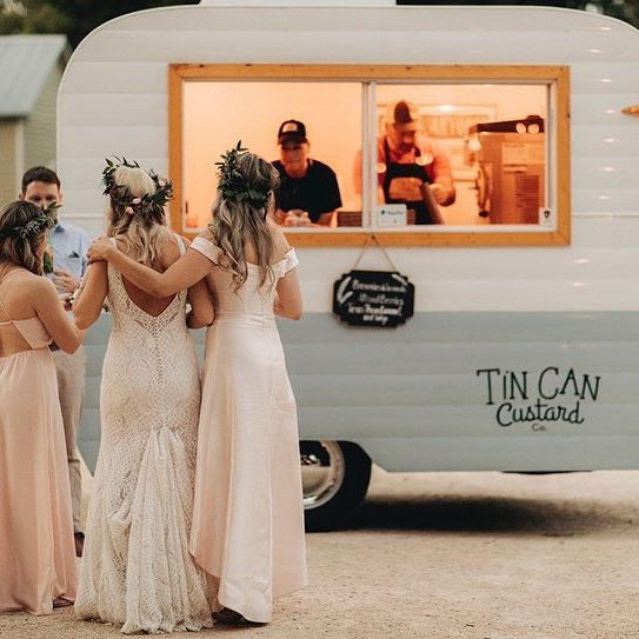 Tin Can Custard Co. Wedding Treats