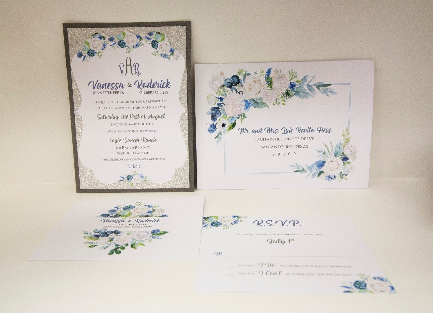 Aly Am Paperie Wedding Invitations