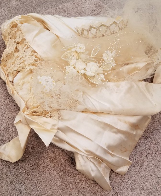 Original Wedding Gown 20+ Years old