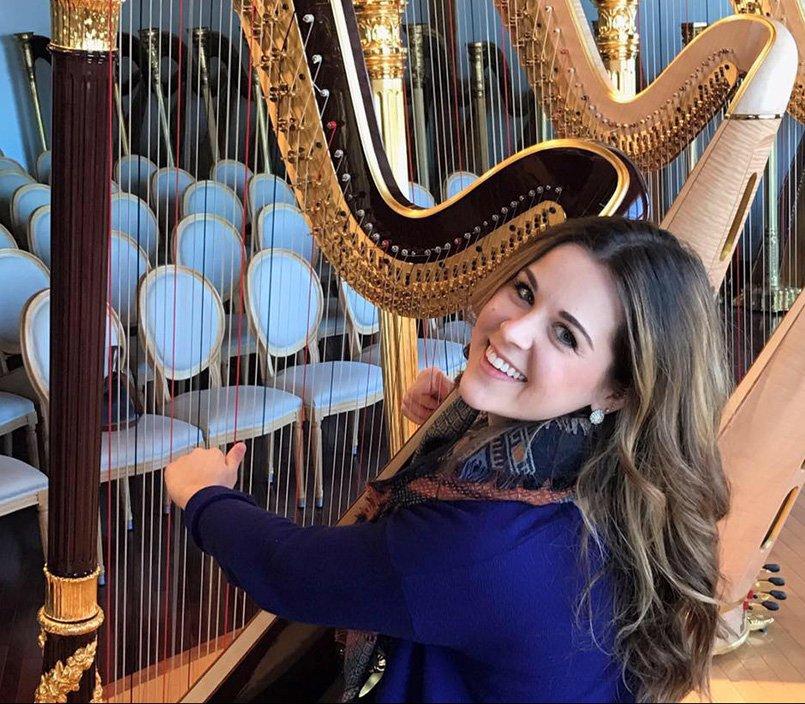Sonja Westberg Harpist