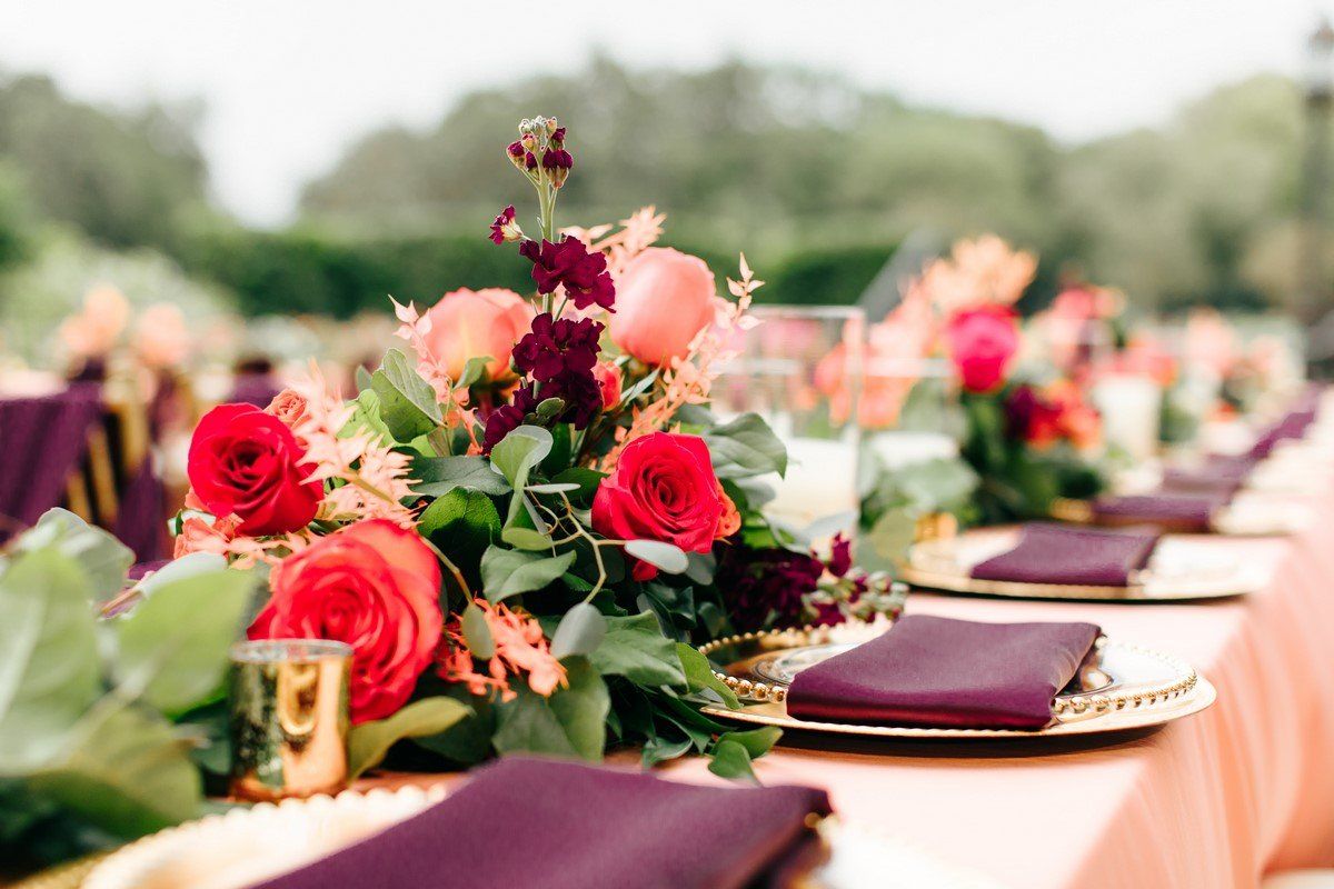 Colorful Elegance Styled Shoot