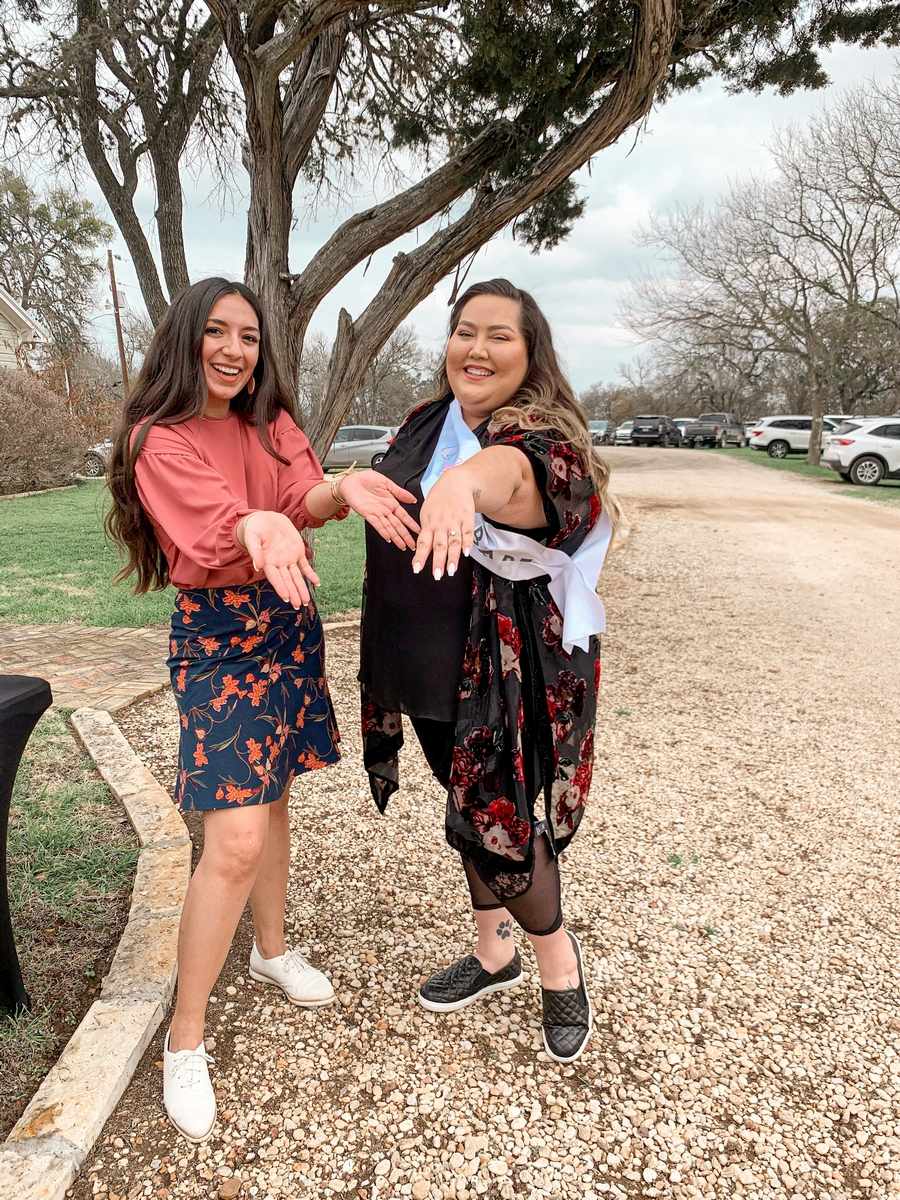 ERika Perez with a Bride at Harper Hill Ranch