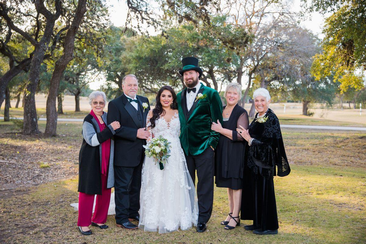 San Antonio wedding photos at canyon springs golf club