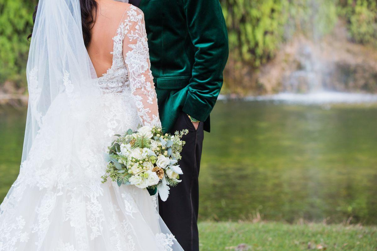 San Antonio winter wedding at canyon springs golf club